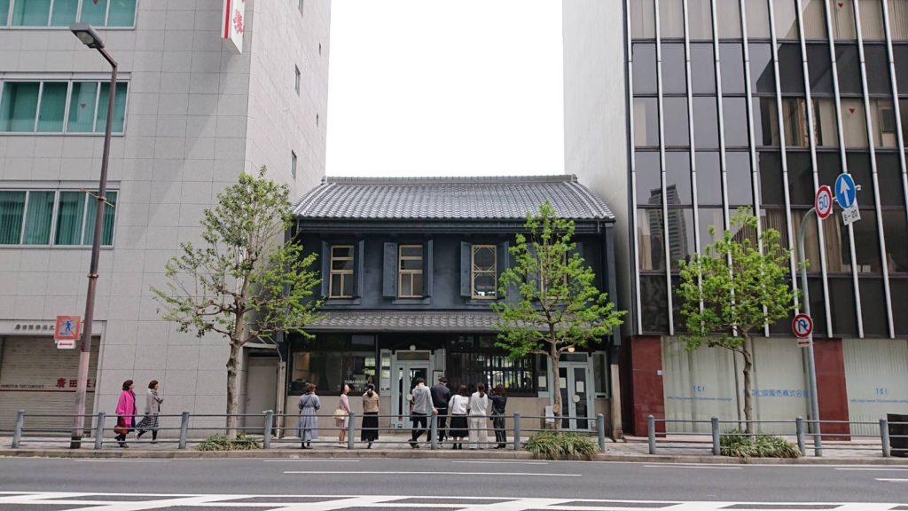 大阪北浜のエンバンクメントコーヒーの外観