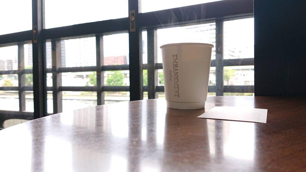 大阪北浜のエンバンクメントコーヒー