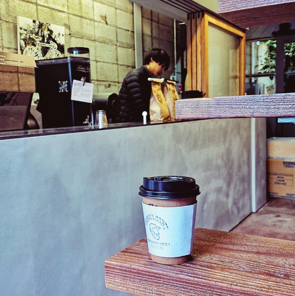 大阪中崎町のザ ガッツ コーヒー/THE GUT'S COFFEE