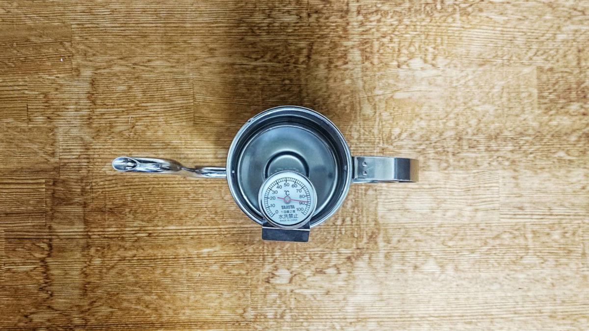 コーヒー温度計