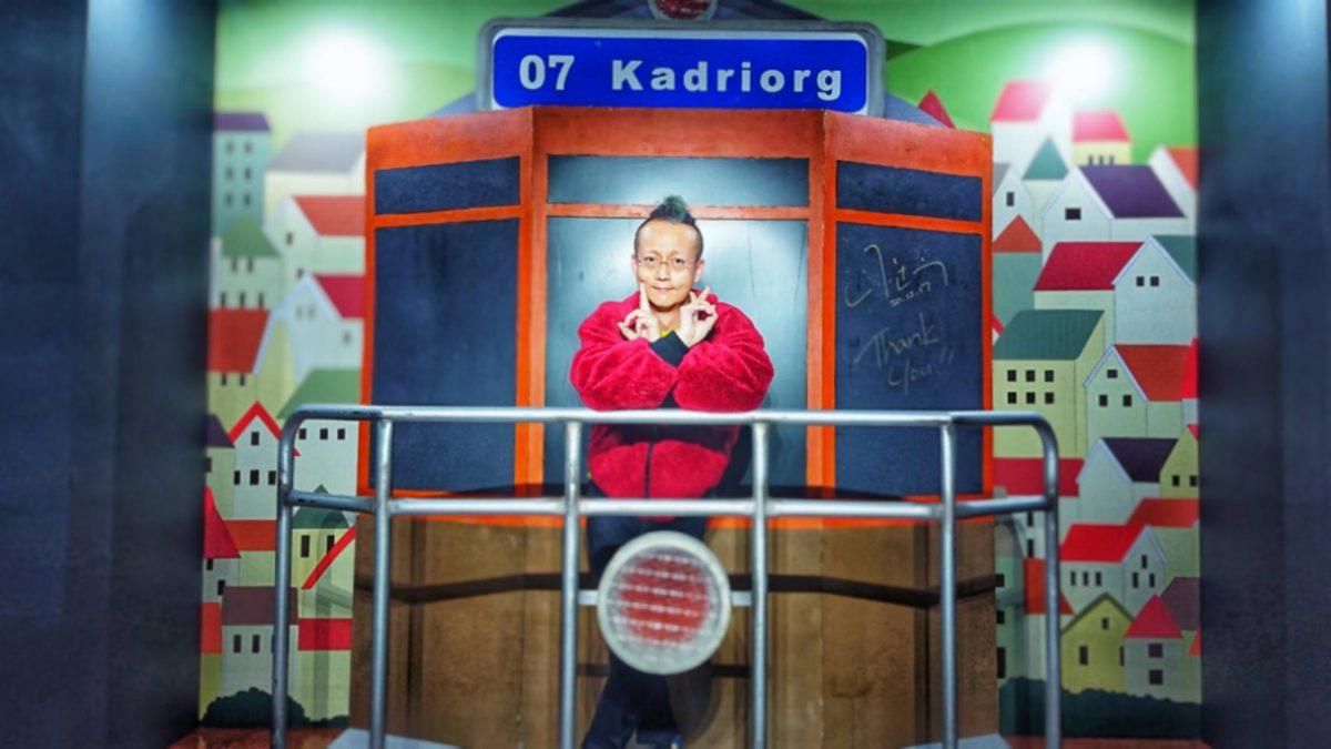 山下達郎の展覧会のお立ち台